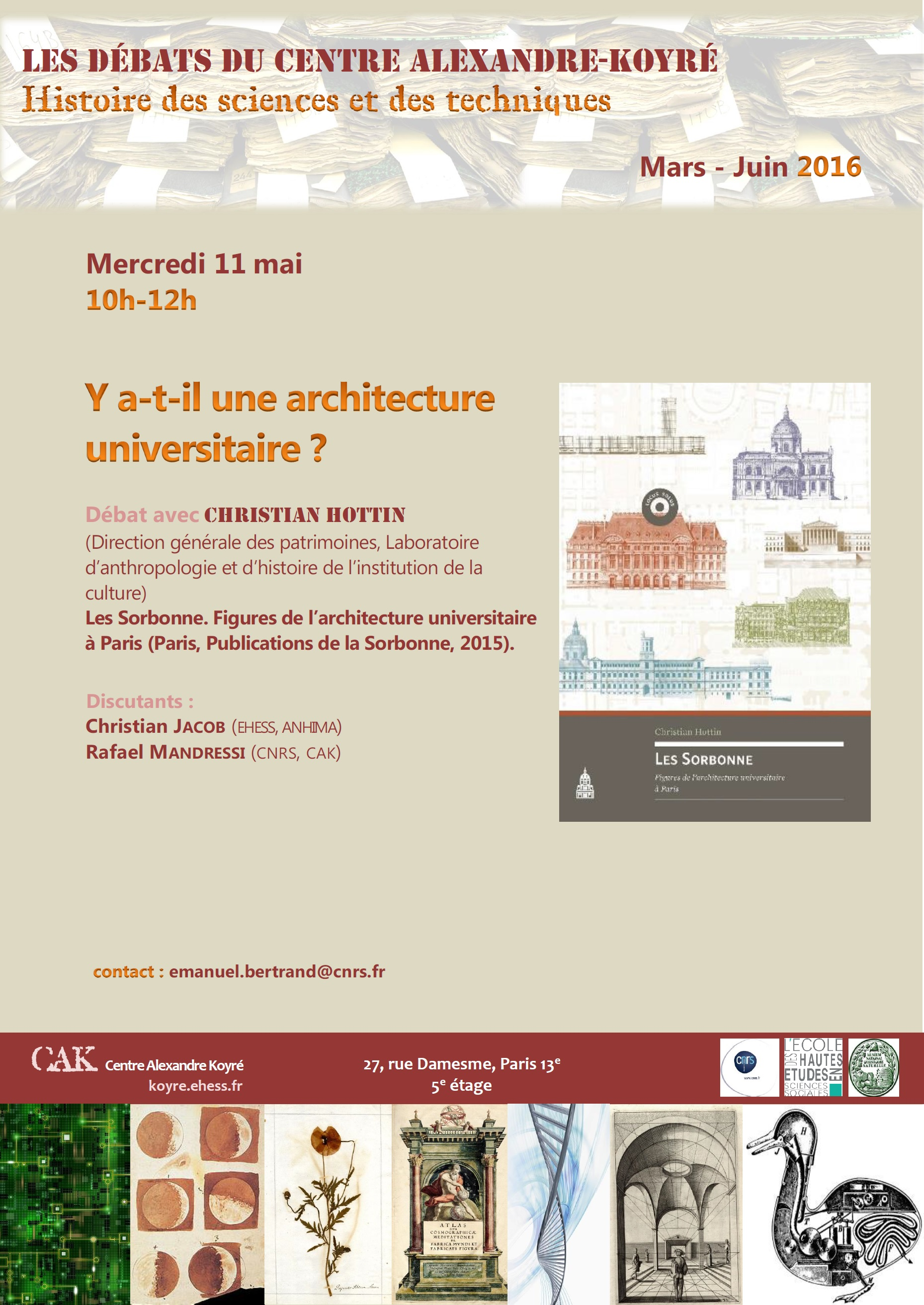 Y a-t-il une architecture universitaire?