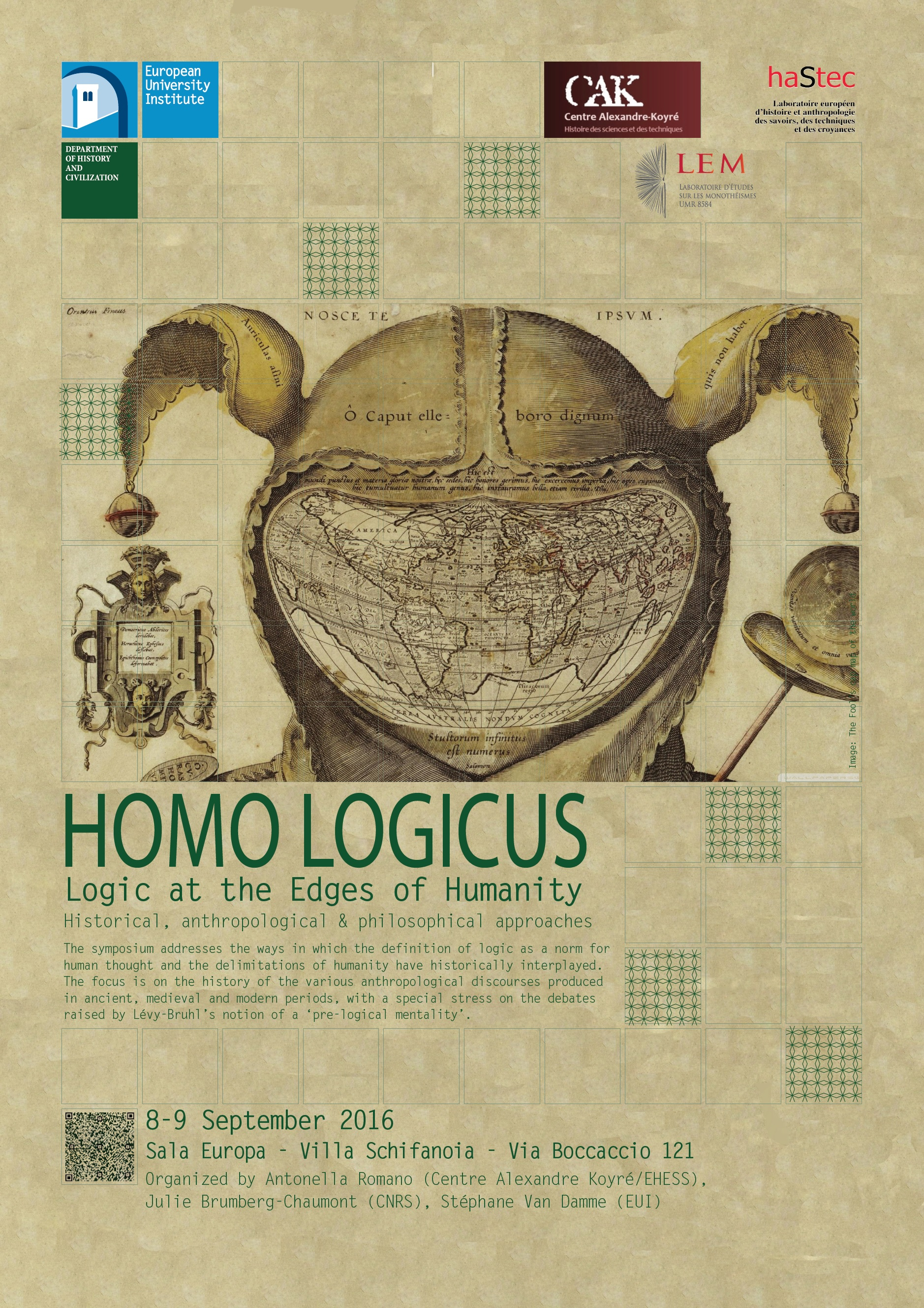 Logic at the Edges of Humanity: Historical, anthropological & philosophical approaches