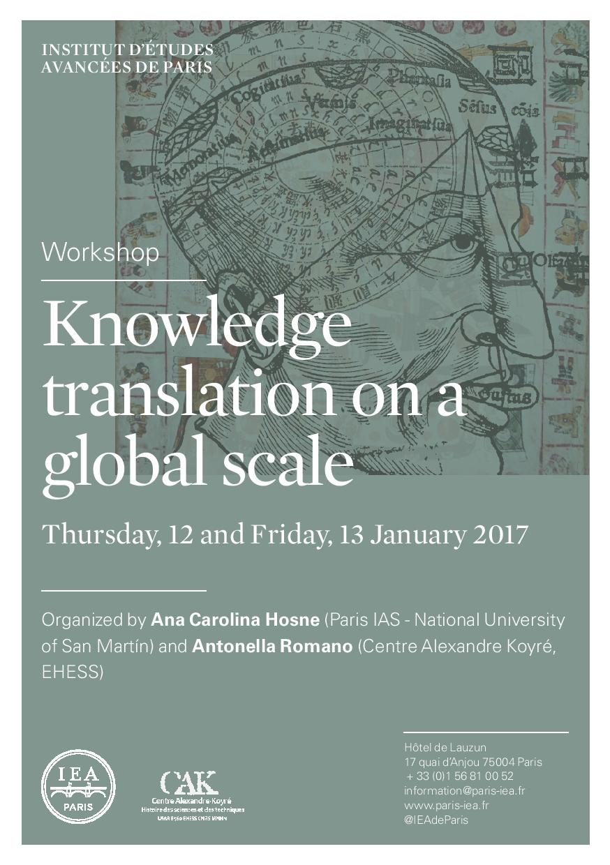 International workshop Knowledge translation on a global scale