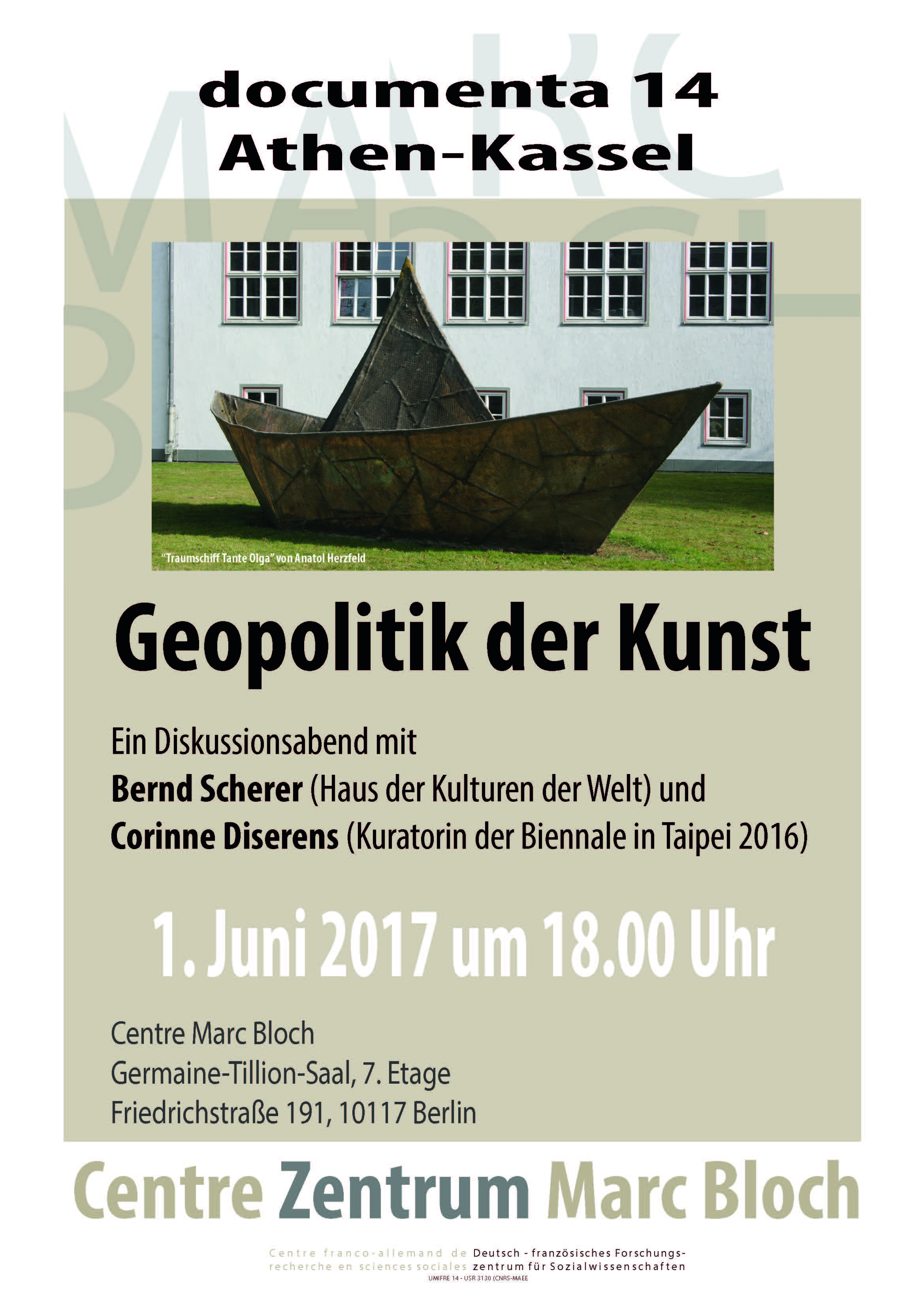 documenta 14 Athènes-Kassel : « Géopolitique de l´art »